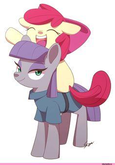 my little pony,Мой маленький пони,фэндомы,mlp art,Maud Pie,minor,Apple Bloom,Эппл Блум,CMC,Метконосцы, меткоискатели