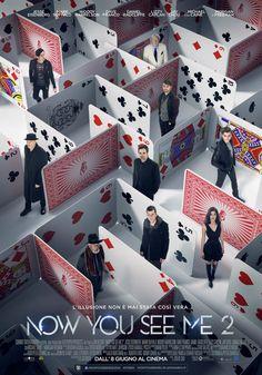Now You See Me 2, il film con Mark Ruffalo, Woody Harrelson e Michael Caine, dall'8 giugno al cinema.