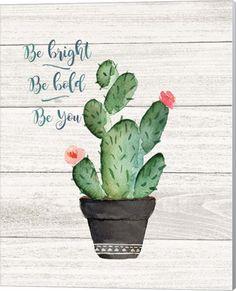 Metaverse Be Bright by Jo Moulton Canvas Art Cactus Decor, Cactus Art, Canvas Artwork, Framed Artwork, Cactus Quotes, Cactus Plante, Bright Art, Chalkboard Art, Online Art