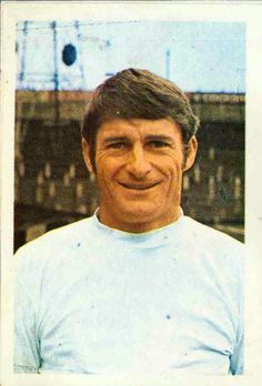 Roger Hunt of Bolton Wanderers in 1969.