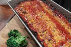 Pumpkin Meatloaf with Awesome Glaze