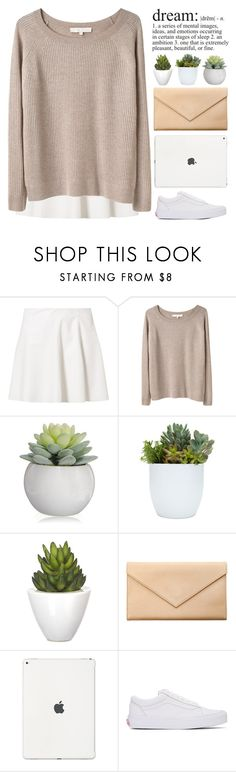 """""""#49O"""" by lost-in-a-daydr3am ❤ liked on Polyvore featuring Vero Moda, Vanessa Bruno, Pomax, Carré Royal and Vans"""