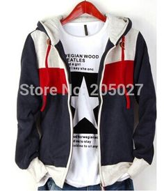 >> Click to Buy <<  autumn winter best quality!S to XXL grey red dark blue thick men's hoody jacket famous brand mens hoodies and sweatshirts #Affiliate