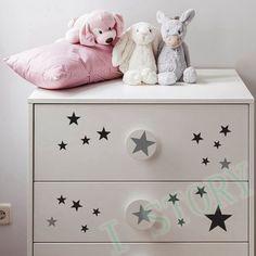 Золотые звезды наклейки на стены виниловые наклейки золотая Звезда Детей Номеров…