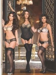 The Kardashian sisters launch their lingerie line w/Sears.