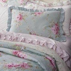 Amazon.com: Simply Shabby Chic Hydrangea Duvet Cover Set - Twin: Home & Kitchen