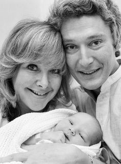 Benedict Cumberbatch baby photo with his parents. He is the perfect combination of the two.