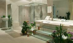 Espectacular cuarto de baño de Ana Celdrán para Casa Decor Madrid 2006.