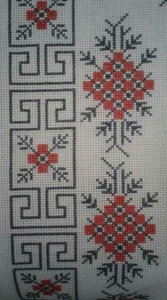 Cross Stitch Bookmarks, Cross Stitch Borders, Cross Stitch Charts, Cross Stitch Designs, Cross Stitch Patterns, Lassi, Bargello, Border Design, Embroidery Stitches