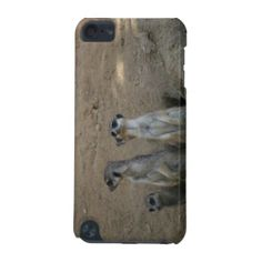 Cute Meerkat Family Saying Hello iPod Touch 5g Case   iPod Touch 5th Generation Cases