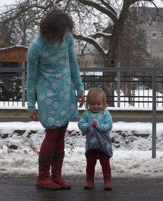 Balonové šaty pro maminku a dceru   Breberka