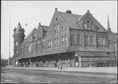 TH&B station Hamilton Ontario, Canadian History, The Old Days, Cathedral, Old Things, Louvre, Canada, Photos, Travel