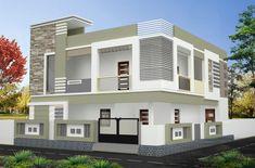 House Balcony Design, House Outside Design, House Ceiling Design, Kerala House Design, House Front Design, Modern House Design, 2bhk House Plan, 3d House Plans, Indian House Plans