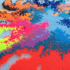 Abstract design hama beads by louiselagoni1973