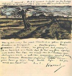 Vincent Van Gogh's letter