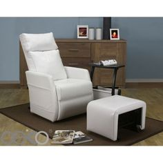 Costco: Emmett Locking Glider Rocker with Ottoman and Side Table