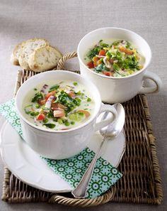 Unser beliebtes Rezept für Endivien-Käse-Suppe und mehr als 55.000 weitere kostenlose Rezepte auf LECKER.de.