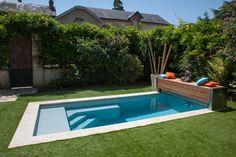 Une petite piscine qui a tout d'une grande