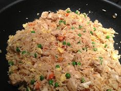 Steel Magnolia's Kitchen: Chicken Fried Rice and a little Bangin' Good Shrimp