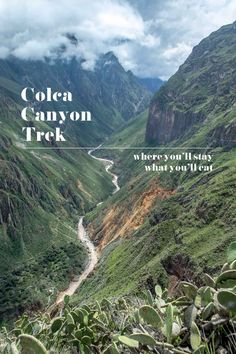 Planning on tackling the Colca Canyon? Why not Pin it?