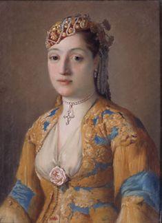 Jean-Etienne Liotard (Swiss-French artist, 1702-1789) Madame James Fremeaux (1720-1801) 1738