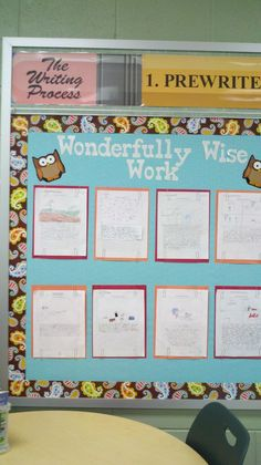 """""""Wonderfully Wise Work"""" I like the idea of paper clipping the work to avoid holes!"""