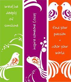Digital Bookmark Art