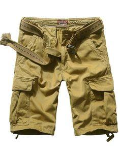 Match Mens Twill Cargo Shorts
