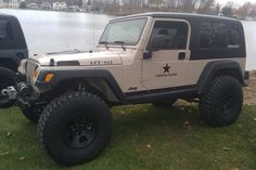 "AEV ""For Unofficial Use Only"" Jeep LJ"