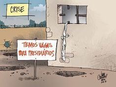Ivan Cabral - charges e cartuns: Charge do dia: Temos vagas
