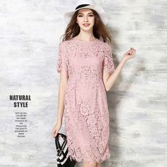 Buy Isadora Lace Short-Sleeve Dress at YesStyle.com! Quality products at remarkable prices. FREE WORLDWIDE SHIPPING on orders over US$35.