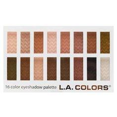 L.A. Colors 16 Color Eyeshadow Palette - 0.95 oz.