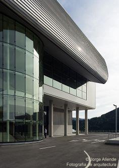 Nuevo edificio Tekniker IK4. Arquitecto: Joaquín Montero