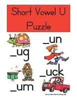 Short Vowel U Puzzle - Have Fun Teaching