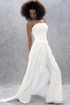all white pant suits for women