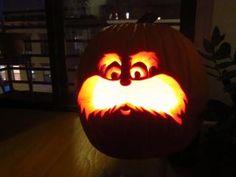Lorax Pumpkin
