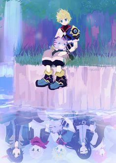 KH birth by sleep Ventus 🔥💝 Kingdom Hearts Ventus, Kingdom Hearts Games, Kingdom Hearts Characters, Kingdom Hearts Fanart, Disney Kingdom Hearts, Kh Birth By Sleep, Black Butler Characters, Kindom Hearts, Human Figure Drawing