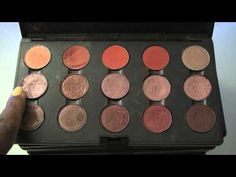 MAC Eyeshadow Collection Part 1