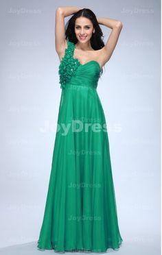 cheap dresses for wedding   Rose Settes A-line One Shoulder Floor-Length Dress  £64.00