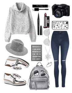 """""""In a galaxy, far away..."""" by nidyaag on Polyvore featuring George, Loeffler Randall, Chiara Ferragni, Fendi, Bling Jewelry, Kate Spade, Marc Jacobs, Forever 21 and lookoftheday"""