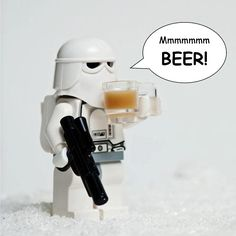 Hard day on Hoth... at least you will always have a cold #Beer #StarWars -