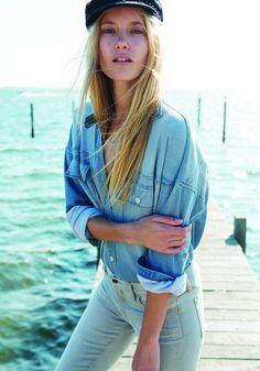Koral Denim Spring 2015 #indigos #focusonjeans® #FocusTextil