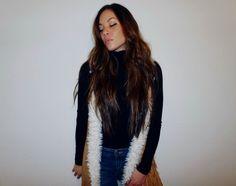 Monica Miyagi | That 70's Show | Fur Vest | Turtleneck