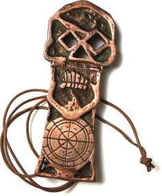 """One Eyed Willy's key from """"The Goonies""""....the fact that i knew what this was…"""