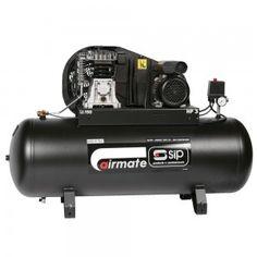 SIP Airmate TN3/150-SRB belt drive 13cfm air compressor  with 150 litre receiver
