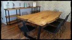 Kütük masa, ağaç masa, doğal ahşap masa / Bilenor Orman Ürünleri San. ve Dış Tic. Ltd. Şti.
