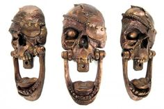 Pirate Skull Door Knocker via http://goo.gl/BVlu2
