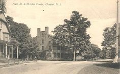 """In 1810, Zephaniah Drake and his father, Jacob Drake, Jr., built the """"Brick Hotel,"""" pictured on the left, which was also a stagecoach stop f..."""