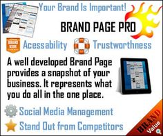 Brand Page Pro