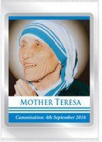 Mother Teresa Souvenirs Fridge Magnet. Saint Teresa Of Calcutta, Virgin Mary Statue, Catholic Gifts, Mother Teresa, All Gifts, Mother Gifts, Saints, Cards, Maps